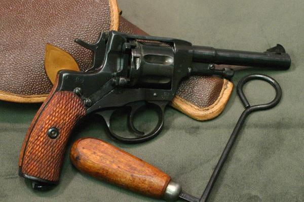 Nagant M1895 revolver.