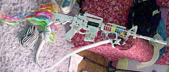 OMG AR-15 Unicorn Rifle