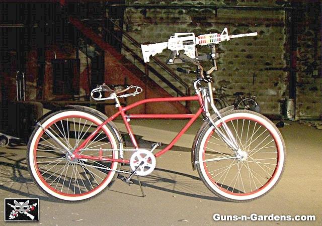 OMG AR-15 Unicorn Rifle Bicycle