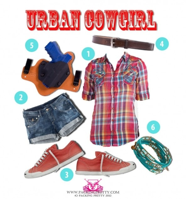 urban cowgirl starter pack picture
