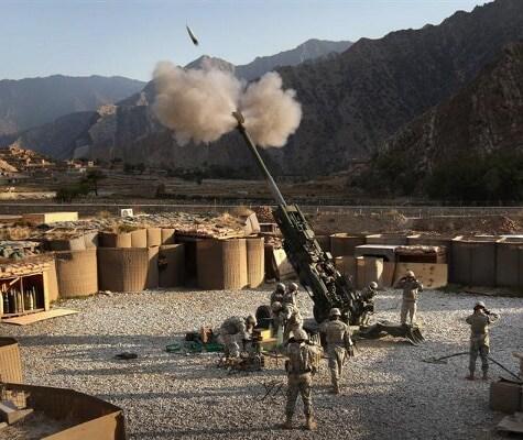 US Howitzer Team