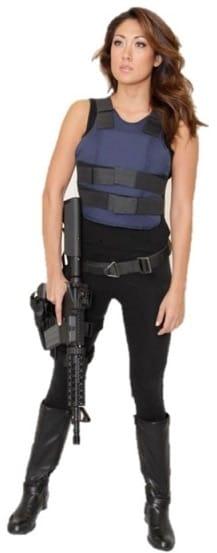 woman from machine gun vegas