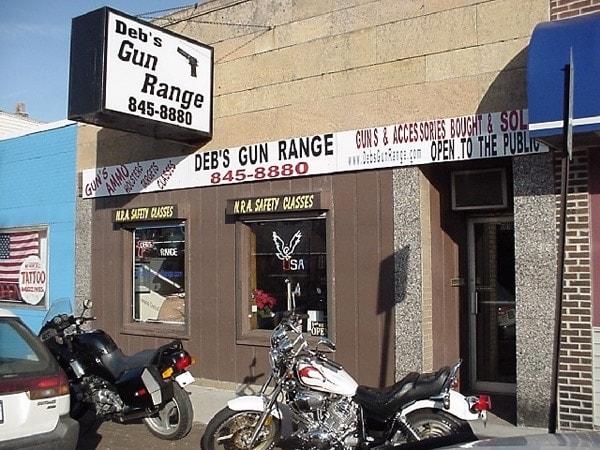debs gun range outside view