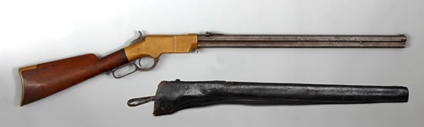 .44 caliber Henry repeating rifle