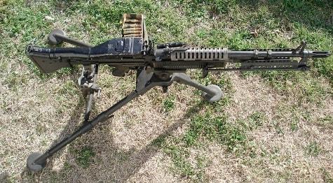 "M60 from ""Walker, Texas Ranger"""