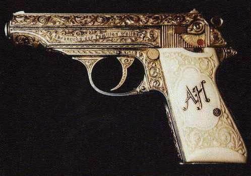 adolf hitlers gun