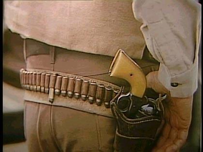 John Wayne revolver.