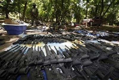 Weapons of Drug Cartel