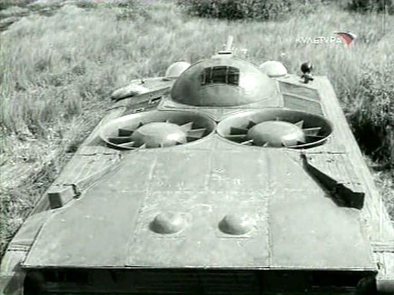 Soviet Hover Tank