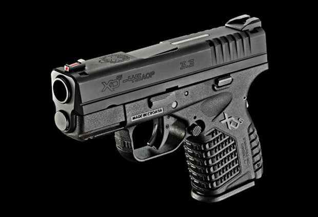 Springfield XDS .45 ACP Handgun Shooting Pistol Concealed Carry