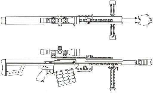 Barrett XM109