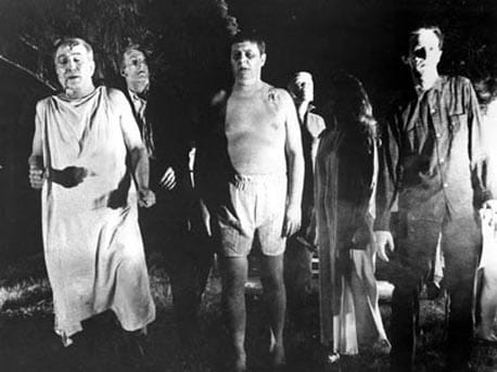 night of the living dead scene