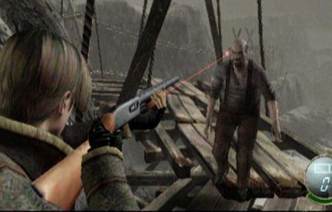 resident evil game scene