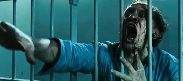 walking dead jail zombie