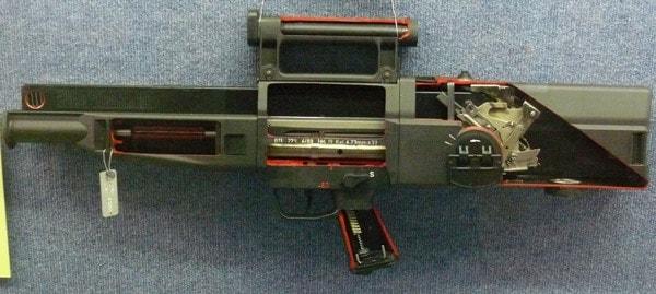 H&K G11 Schnittmodell