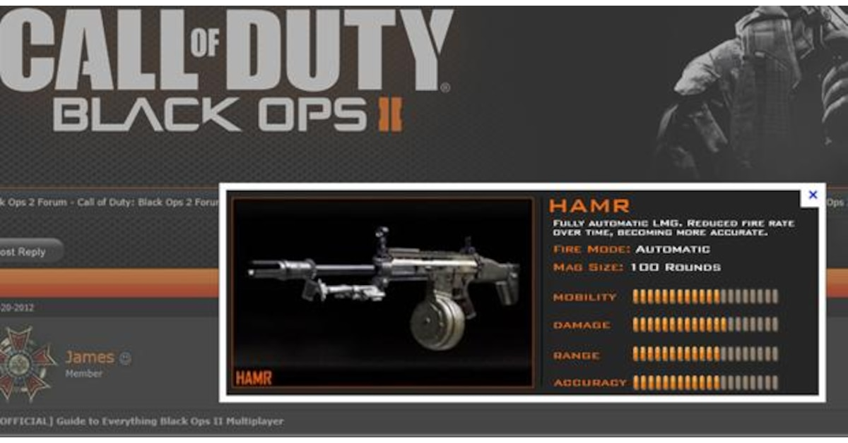 Xs Products Drum Mag Spotted In Call Of Duty Black Ops Ii