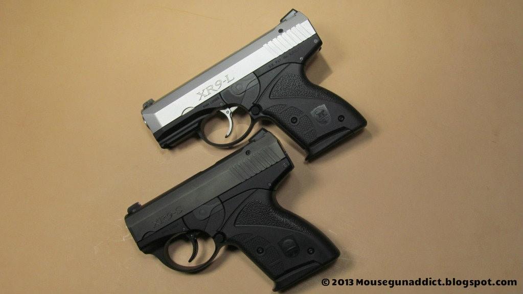 2 boberg pistols for comparison
