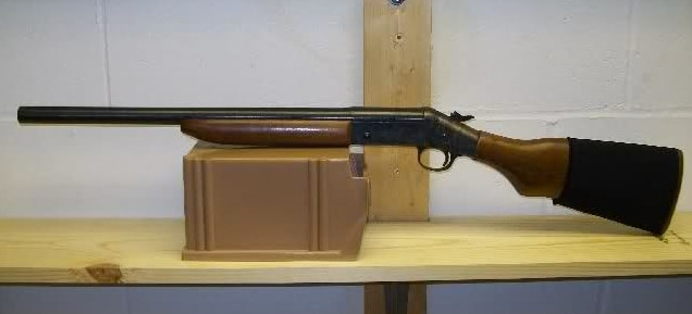 H&R Single shot shotgun.