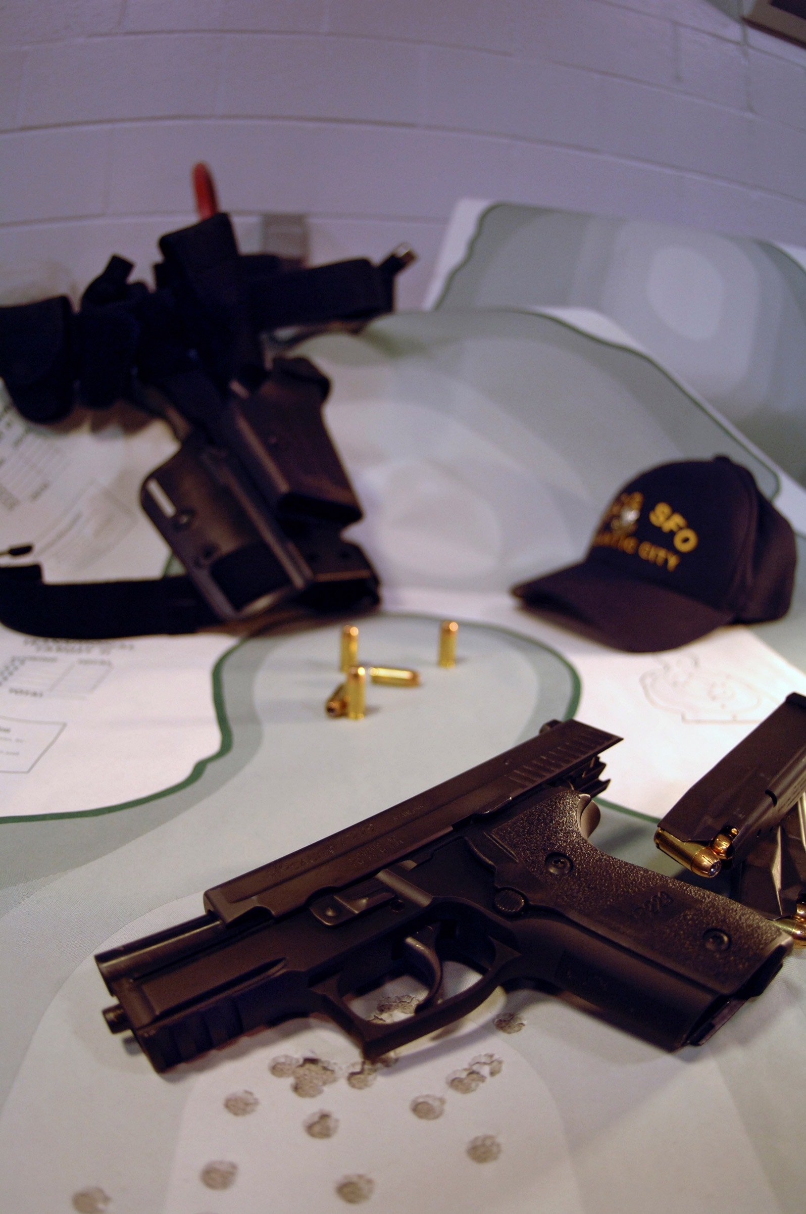The USCG has used Sig P229s in service.