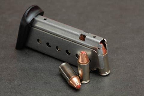 Boberg pistol magazine