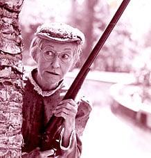 beverly hillbillies grandma with rifle