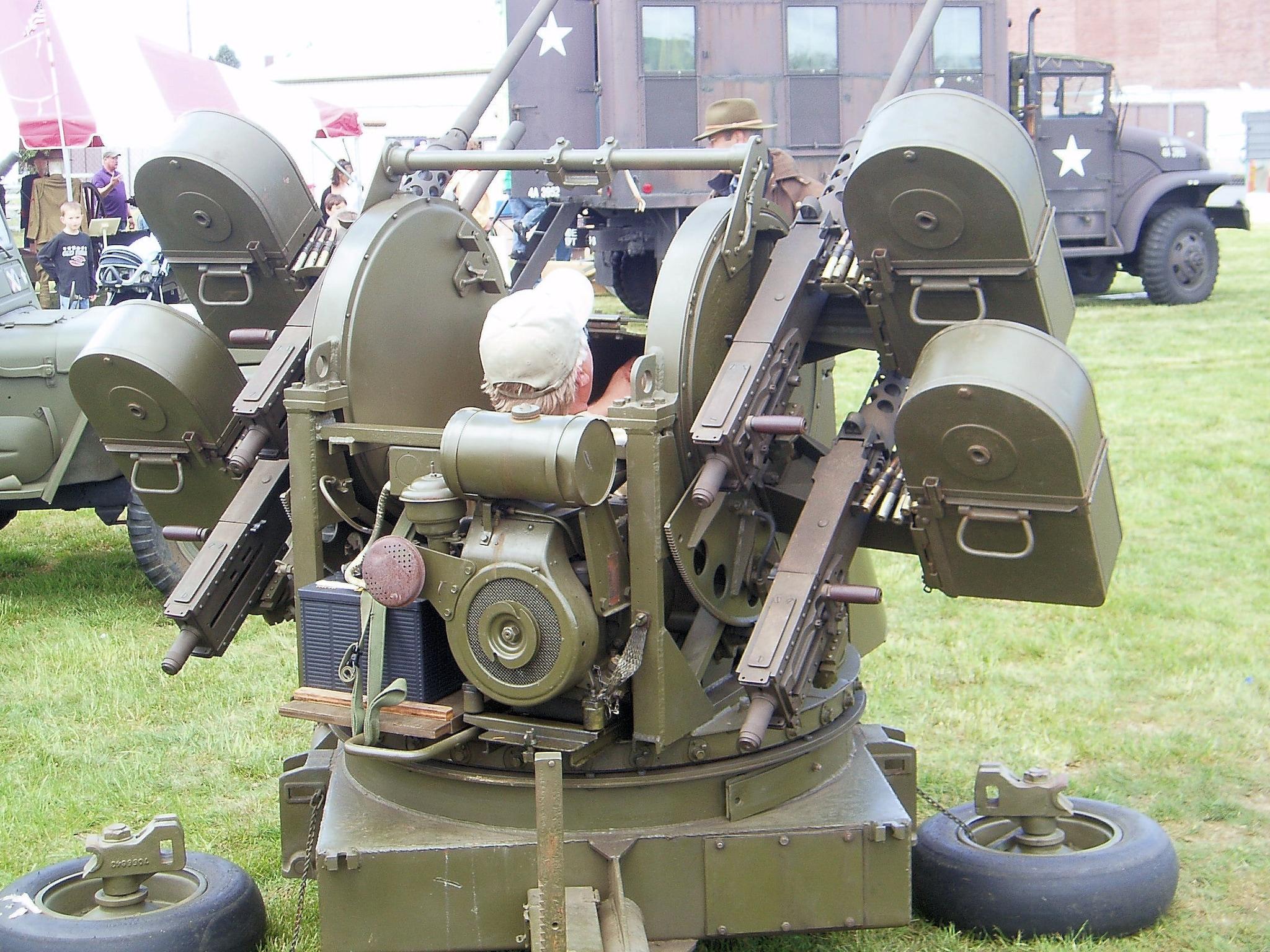 Maxson M45 quadmount for sale.