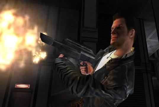 Pancor Jackhammer makes an appearance in Max Payne