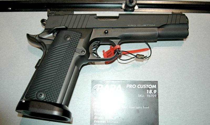 New pistols from Para USA