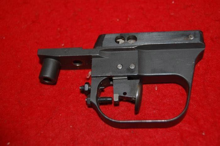 Trigger mechanism for a Ljutic space gun