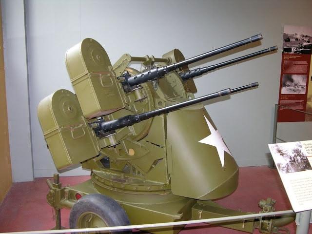 Maxson M45 Quadmount turret.