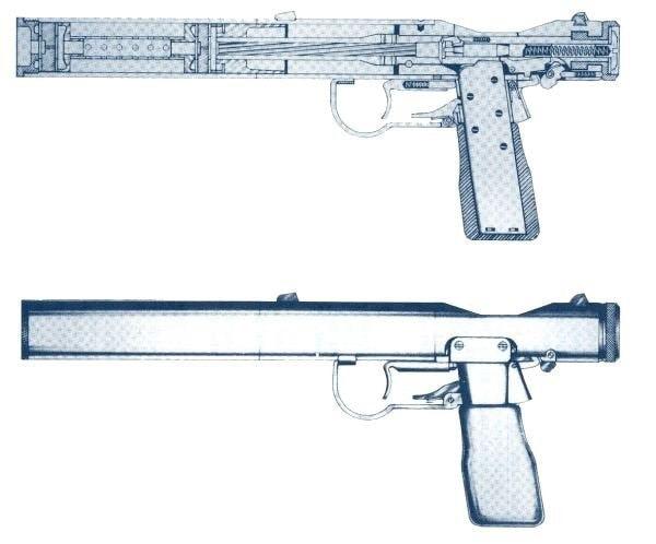 Welrod Mk 1design.