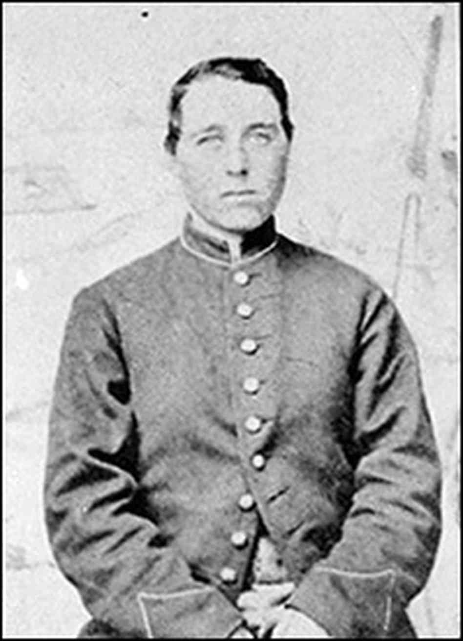 Union soldier Albert Cashier, who was really Jennie Hodgers, fought in dozens of battles during the Civil War. In 1913, she made headlines upon being discovered as a woman in an old soldiers home.