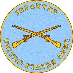 The 1795 musket can be seen on US Army badges today