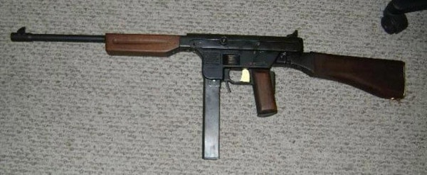 Fox Tac-1 Police Carbine on rug