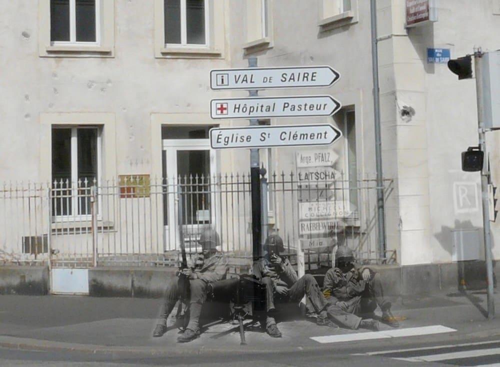 Place Marie Ravenel à Cherbourg France