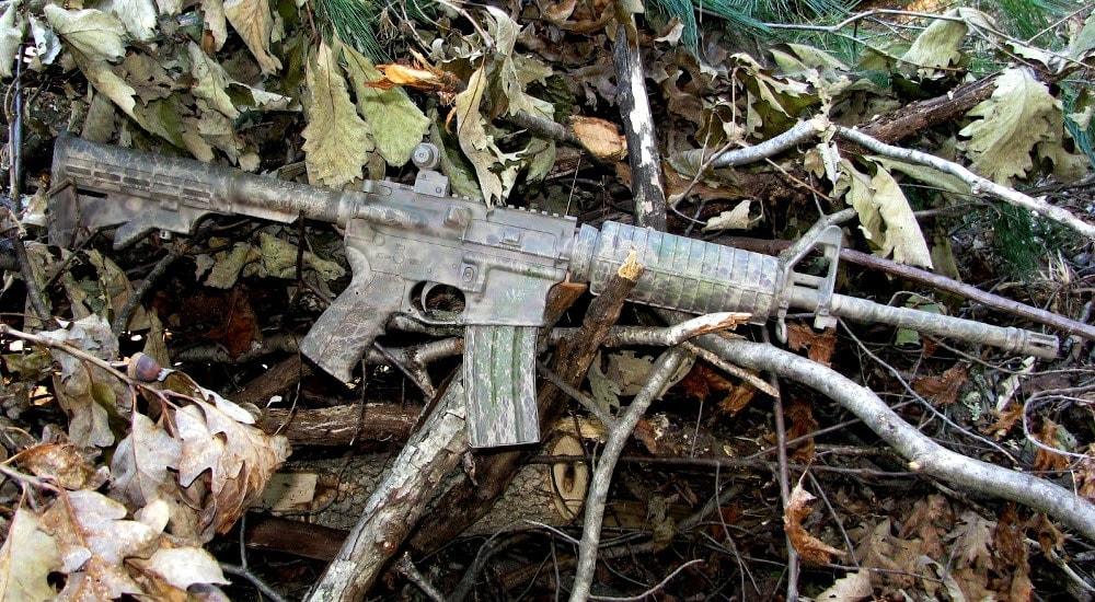 """III Arms AR-15 """"Miller Camo"""""""