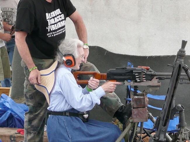 Belt-Fed-Granny