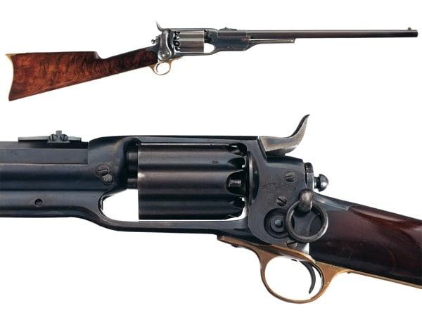 British 15 inch barrel models of Colt's patent