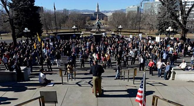 Colorado Gun Rights Protest