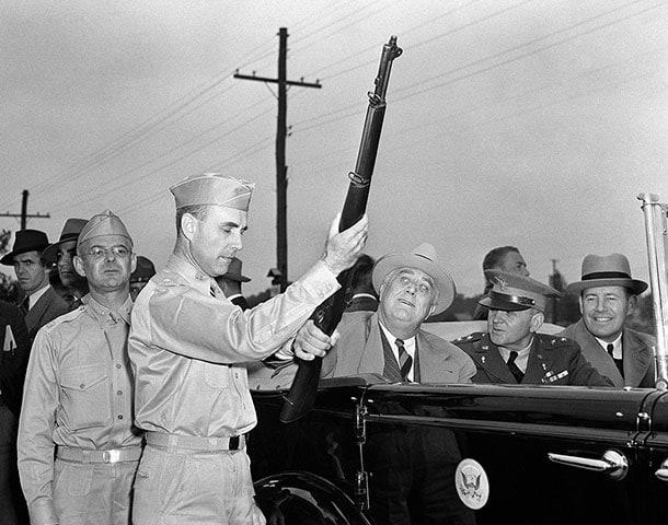 Franklin D Roosevelt FDR Gun