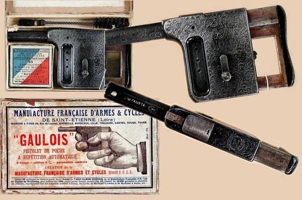 Gaulois palm pistol.
