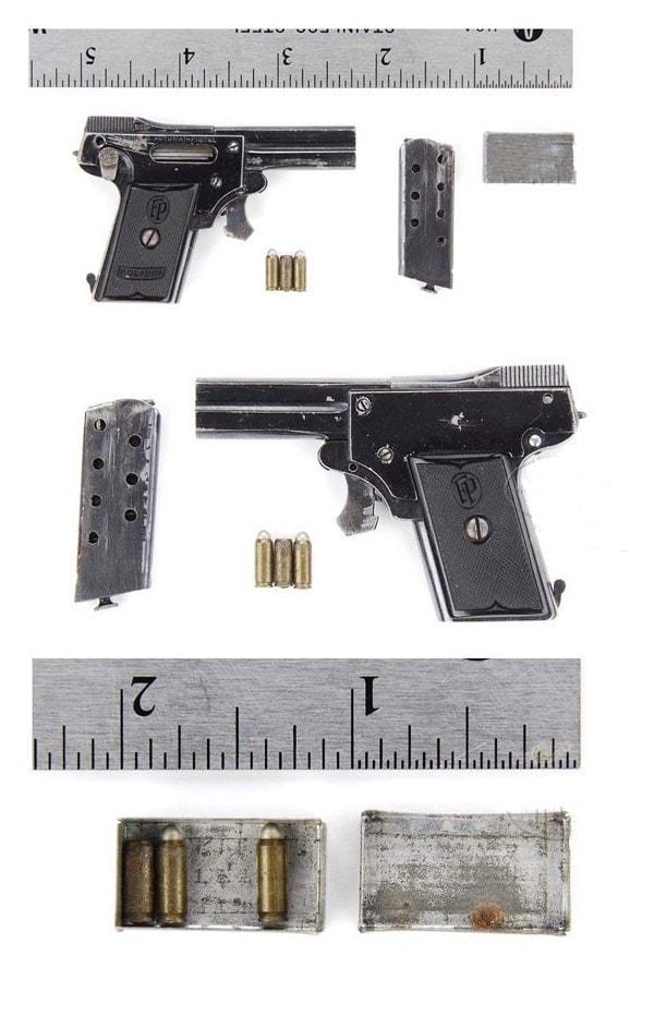 Kolibri pistol,