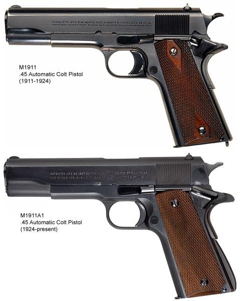 M1911vs.M1911A1
