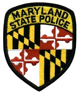 Maryland State Police insignia badge