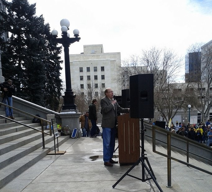 Mike Holler Denver Day of Resistance