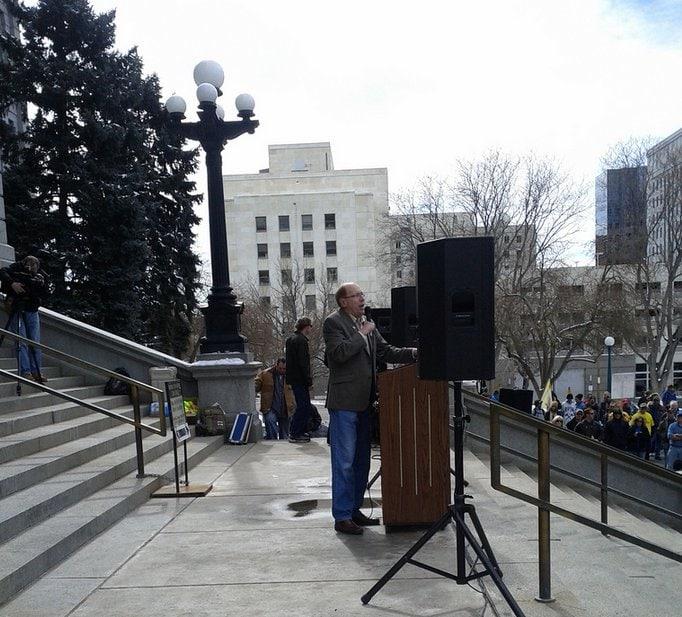 Mike Holler Denver Day of Resistance