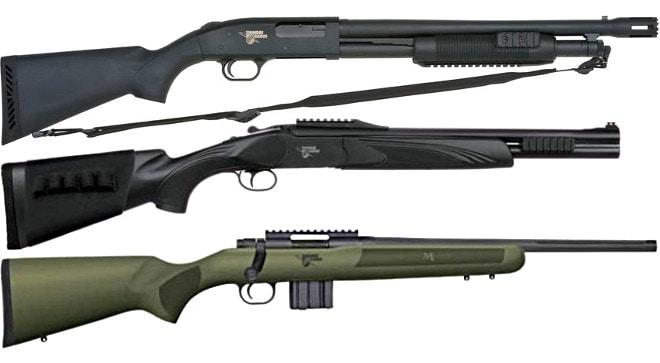 Mossberg Thunder Ranch guns