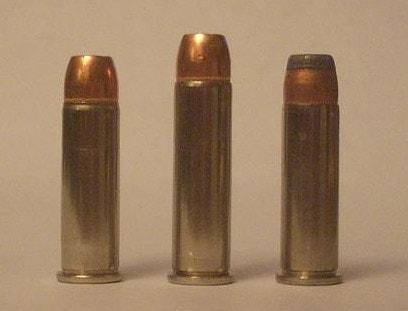 Full metal jacket hardball target ammunition compared to hollowpoint defense ammo