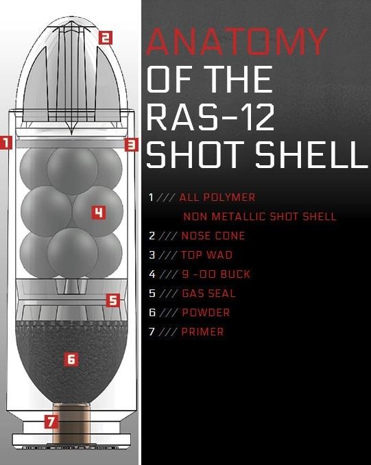 RAS-12 shot shell
