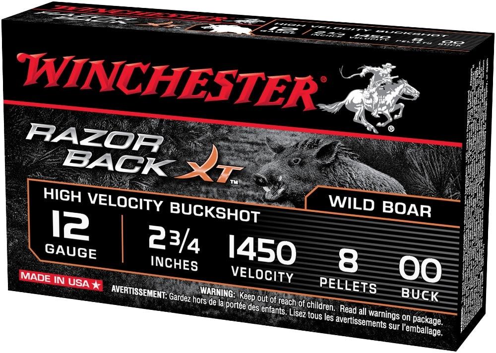 Razorback buckshot 12 gauge